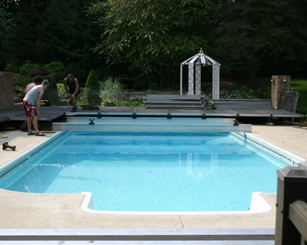 Performance Staging Pool Cover Rental