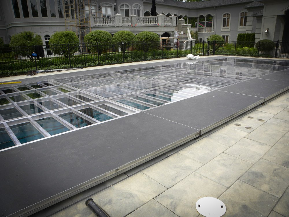pool cover rental by waltz on water. Black Bedroom Furniture Sets. Home Design Ideas