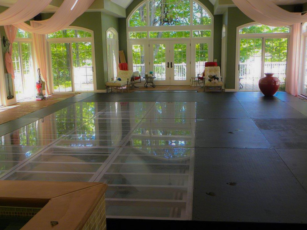 Indoor Pool Cover